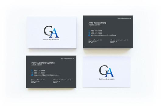 Charte graphique - Guimond Avocats