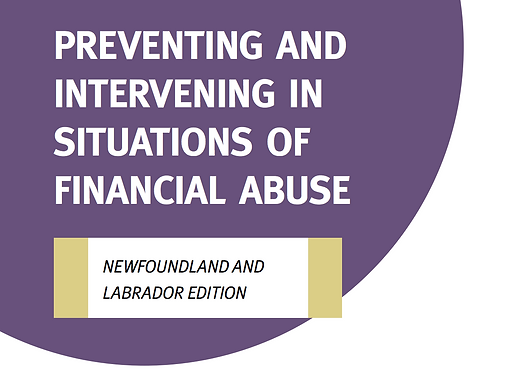 NL- Preventing and Intervening in Situations of Financial Abuse Tool