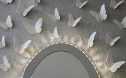 butterflies art installation