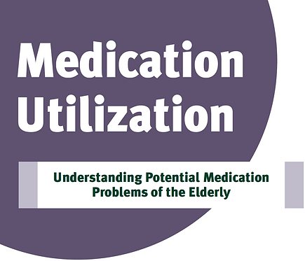 Medication Utilization - Potential Medication Problems of the Elderly
