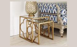 Designer Furniture|brass|tables