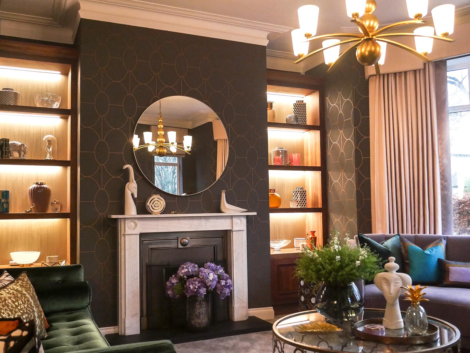 Elegant formal lounge in Belfast
