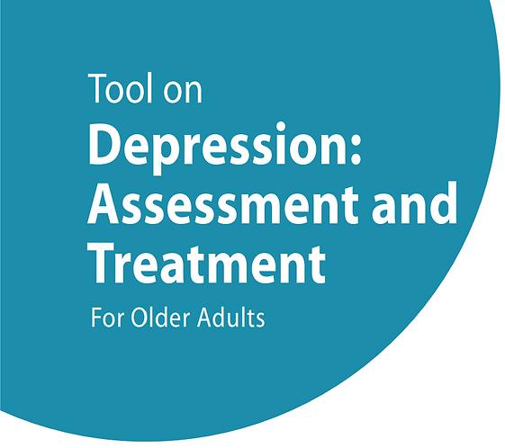 Depression: Assessment and Treatment for Older Adult