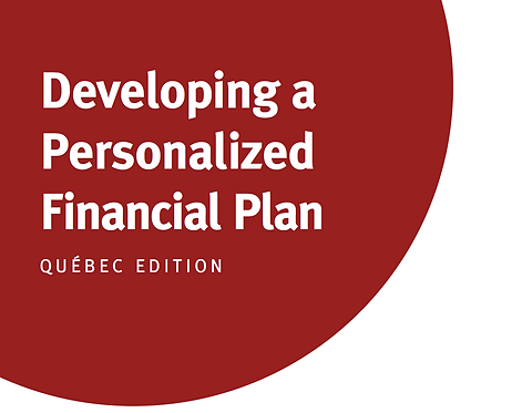 QC - Developing a Personalized Financial Plan
