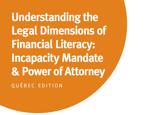 QC - Understanding the Legal Dimensions of Financial Literacy: Power of Attorney