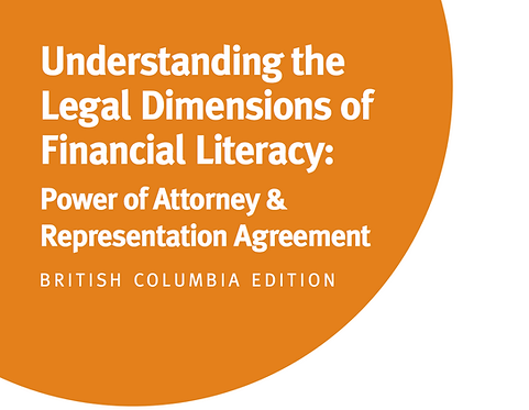 BC - Understanding the Legal Dimensions of Financial Literacy: Power of Attorney