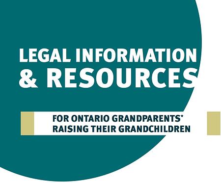 Legal Information for Ontario Grandparents Raising their Grandchildren