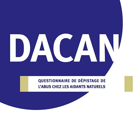 DACAN: Questionnaire de dépistage de l'abus chez les aidants naturels