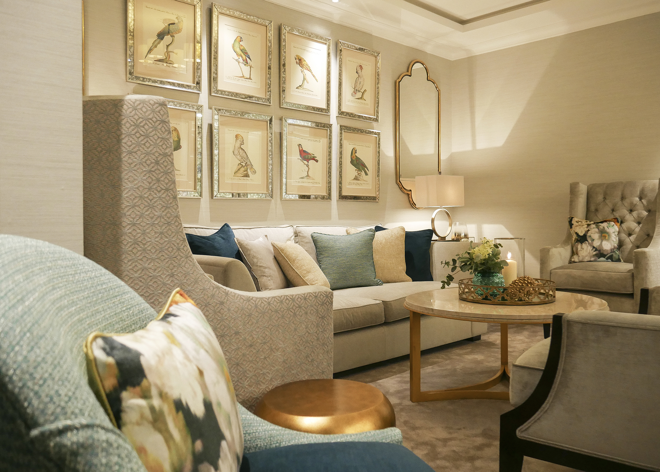 lounge view, Interiors by Atelier
