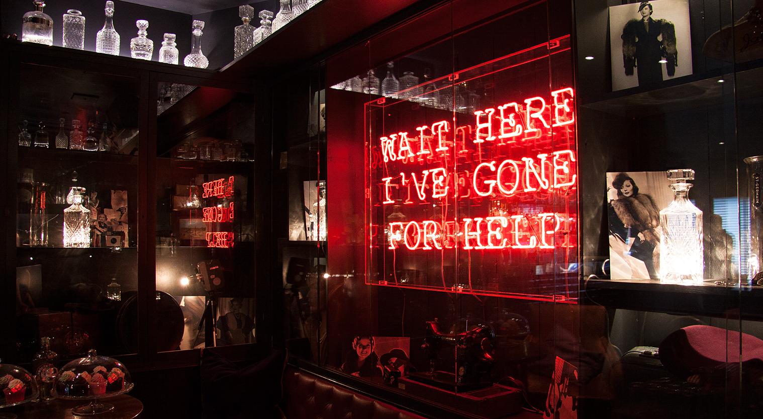Muriel's Cafe Bar | Neon