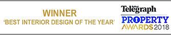 winner Belfast Telegraph Property Awards Best Interior Design of the Year