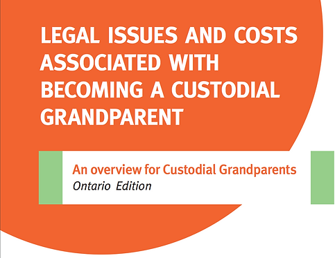 Legal Issues and Costs Associated with Becoming a Custodial Grandparent