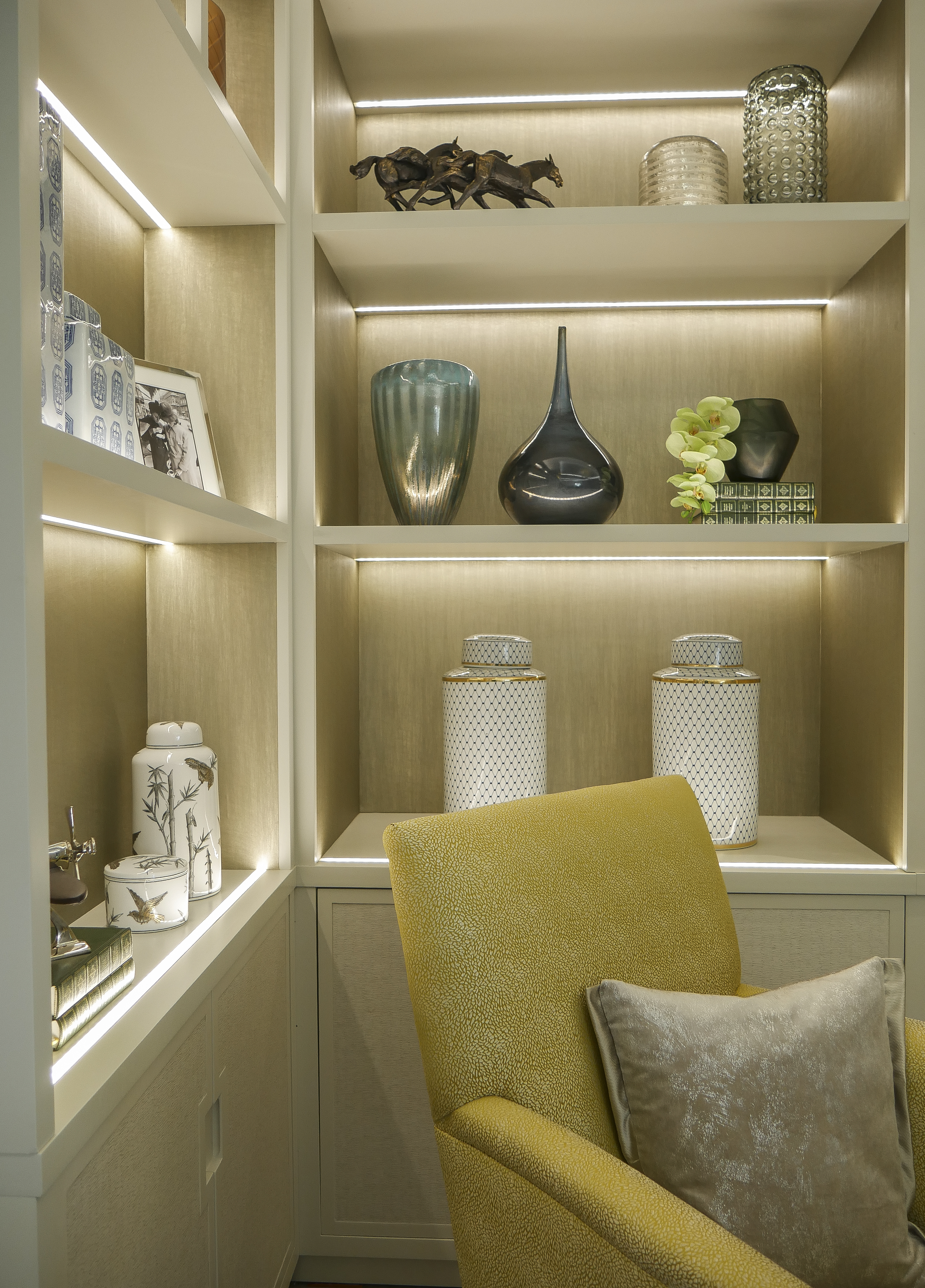 Bespoke cabinetry detail