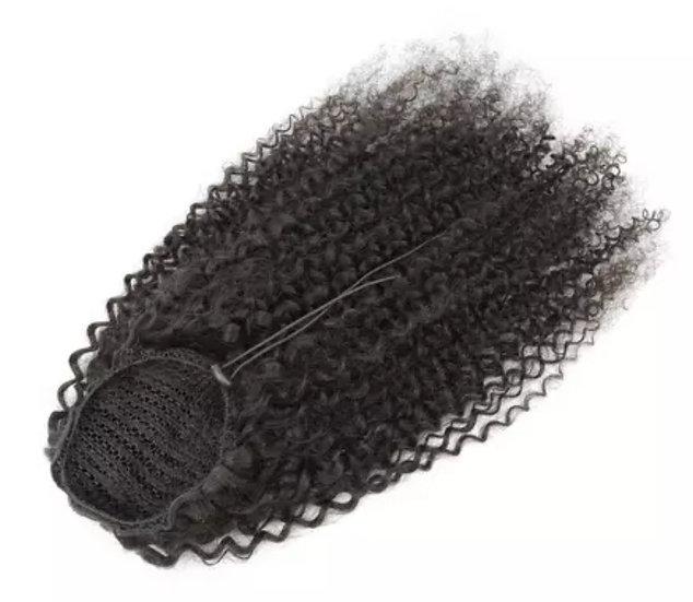 Brazilian Kinky Curly Drawstring Ponytails