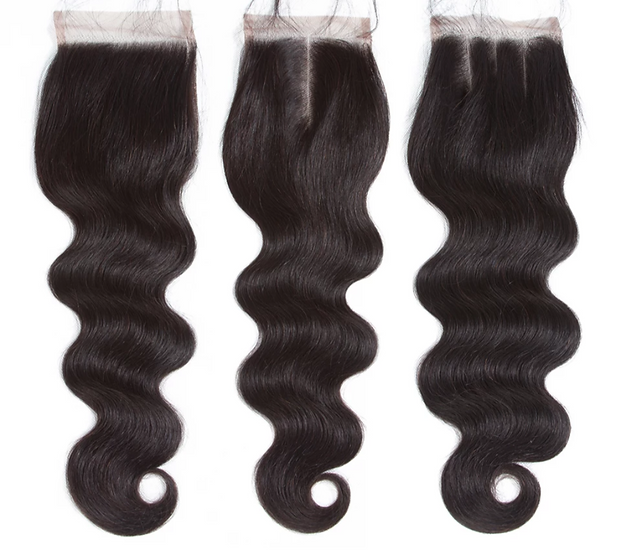 Peruvian Bodywave 4*4 Closures