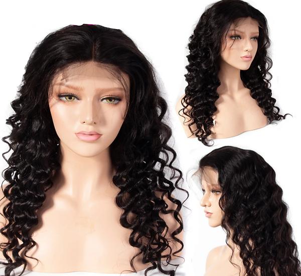 Brazilian Loose Deepwave 4*4 Lace Front Wigs