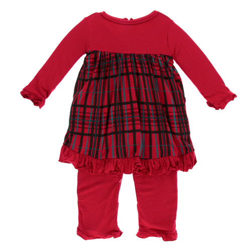 314a9005c21 Dress Romper - Plaid