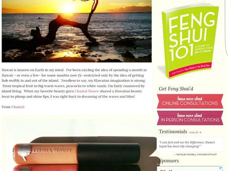 Makeup Artist Chantal Moore reviews Lehua Beauty's Lip Gloss line