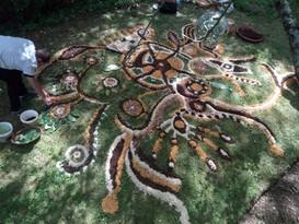 Mandal'art au Jardin l'air de rien 19-06