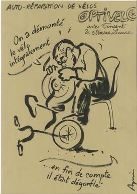 A. Lanchon dessine Opti'vélo