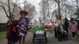 L'équipe de la Paume de Terre au Carnaval de Noisiel