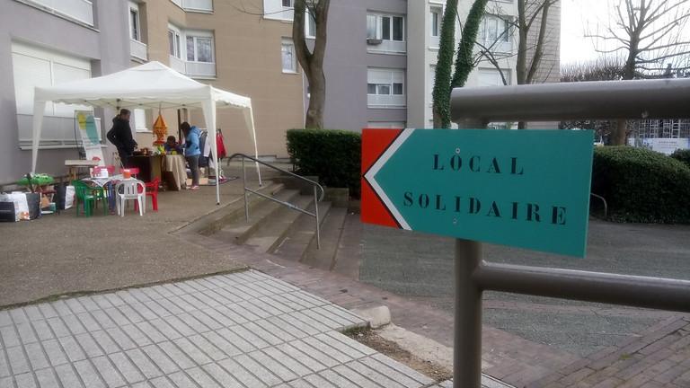 Ouverture Local Solidaire n°2, espace de dons