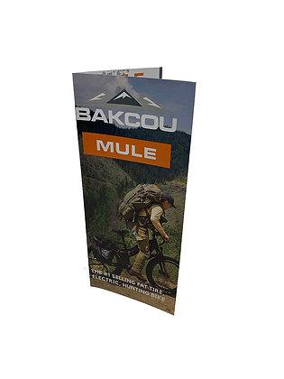 Mule Brochures - Pack of 25