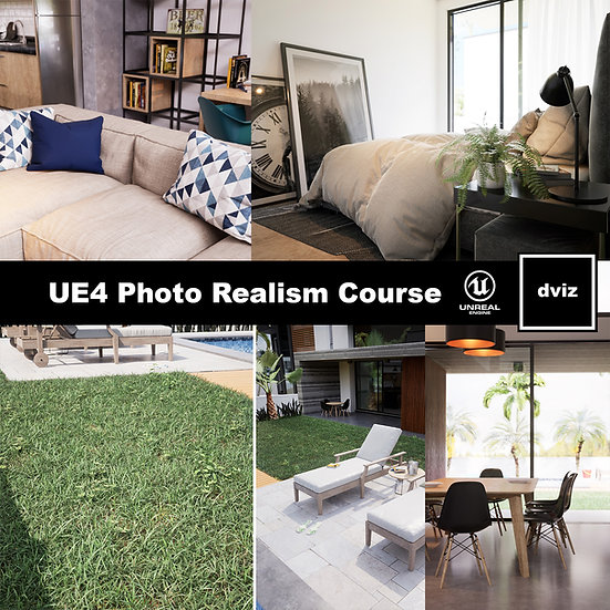 dviz_UE4_ Photo Realism Course - ENG
