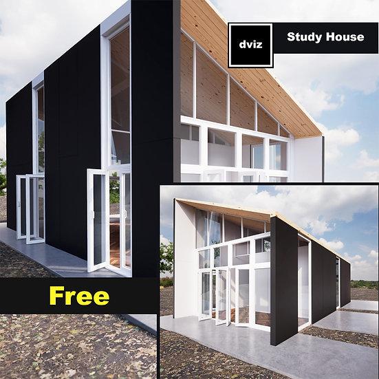 Realistic Rafa's Study House