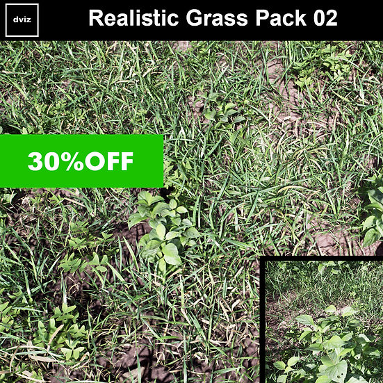 Realistic Grass Pack 02
