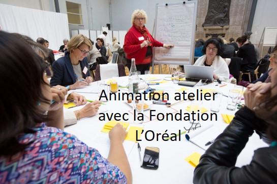 Animation atelier Fondation L'Oréal