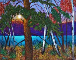 Twilight on a Turquoise Lake 2