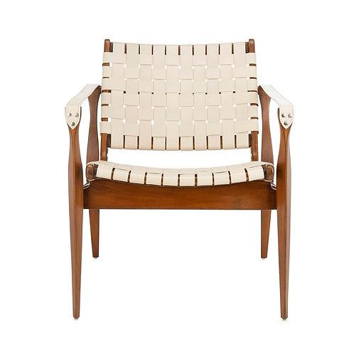 Dilan Leather Safari Chair 4