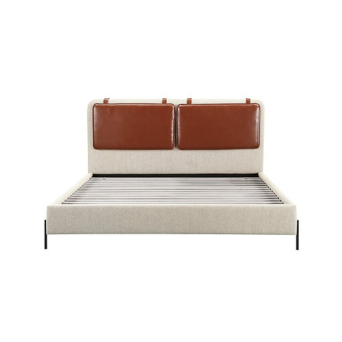 Kirkeby Upholstered Bed 2 (Bobby Berk Collection)