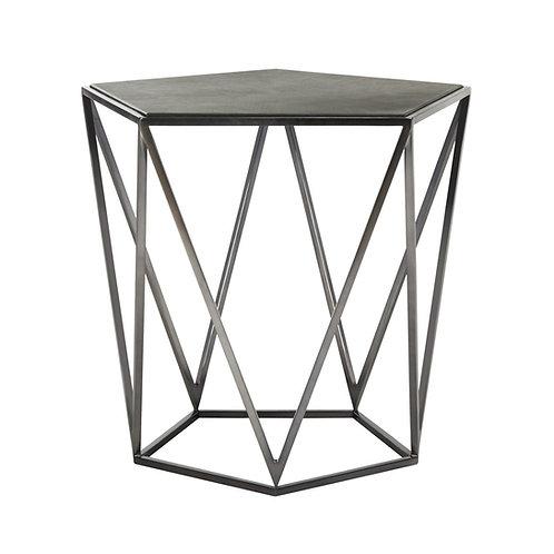 Alba Geometric Side Table