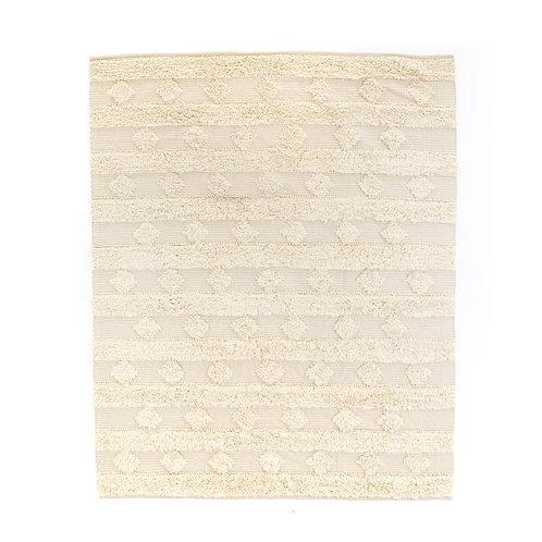 Beige Diamond Stripe Rug (多款可選)