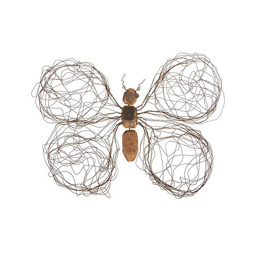 Wire Wing Butterfly Wall Art (More Options)