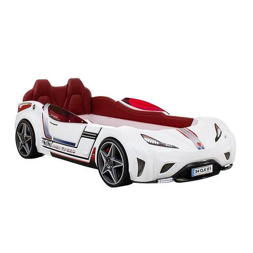冠軍 GTI 雙門跑車床-白天使 (含床墊)