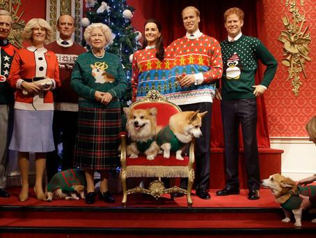 英國皇室幸福聖誕節,穿上繽紛聖誕毛衣!