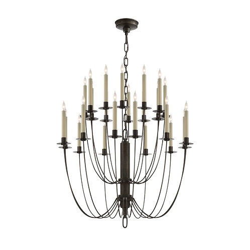 Erika Two-Tier Chandelier (Thomas O'Brien Collection, 多款可選)
