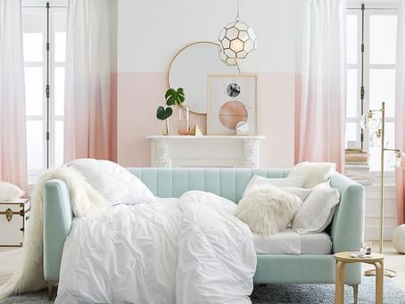 柔和的粉色系,讓居家多了小清新的幸福感~