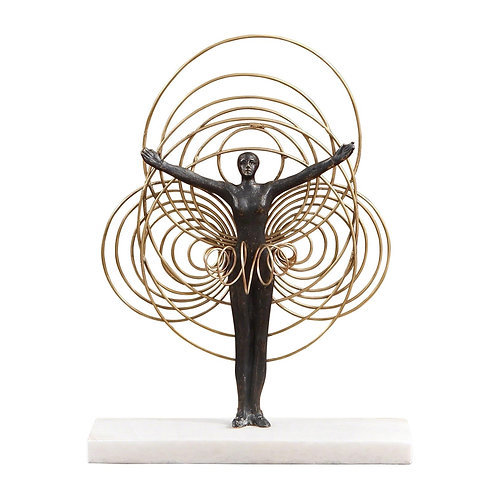 Bauhaus Wire Woman