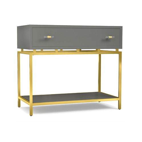 Happily Gray Nightstand (Cynthia Rowley Collection)