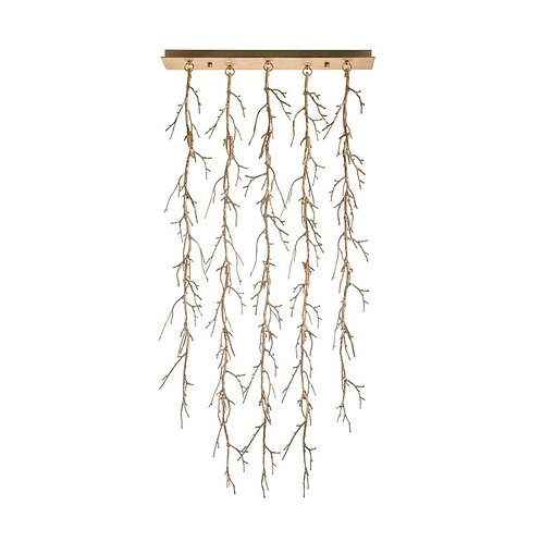 Prana: Spiked Branch Ceiling Mount Fixture