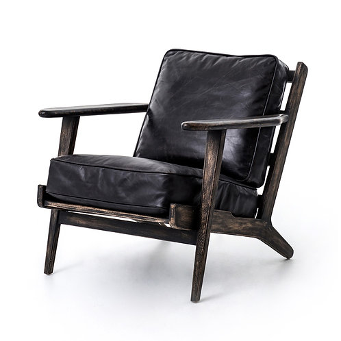 Brooks Leather Lounge Chair