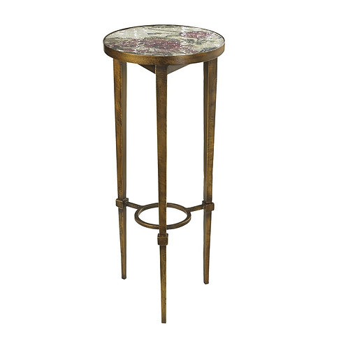 Fleur Accent Table With Mosaic Top