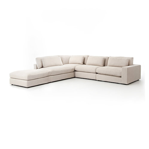 Bloor 5-Piece Sectional w/ Ottoman 3
