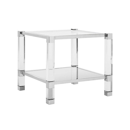 Angie Acyrlic End Table