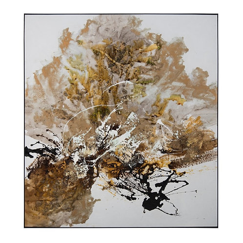 Chen Qi's Gilt and Charcoal