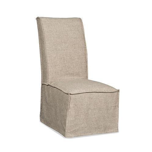 Zuma Linen Armless Dining Chair (Set of 2)